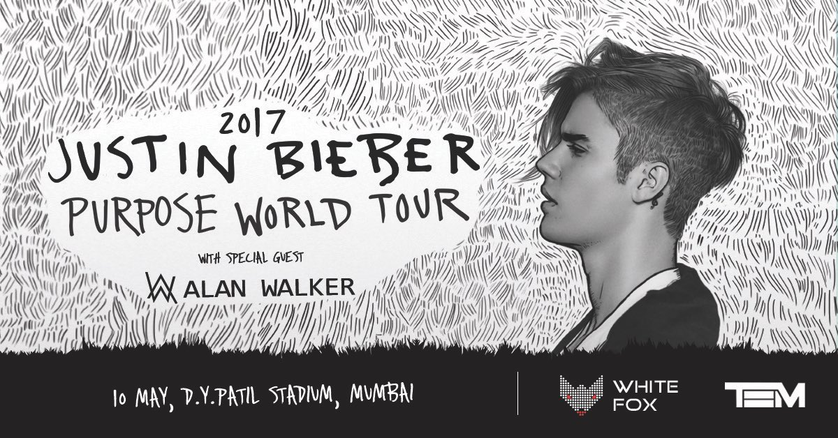 Really excited to go back to India in May!! Supporting @justinbieber on his Purpose World Tour 🔥🙏🏼