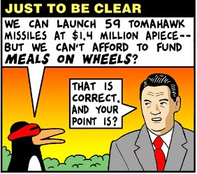 The bomb dropped today in the middle of nowhere, Afghanistan, cost $314,000,000. https://t.co/mV6sJoMIFJ (credit @thenib)