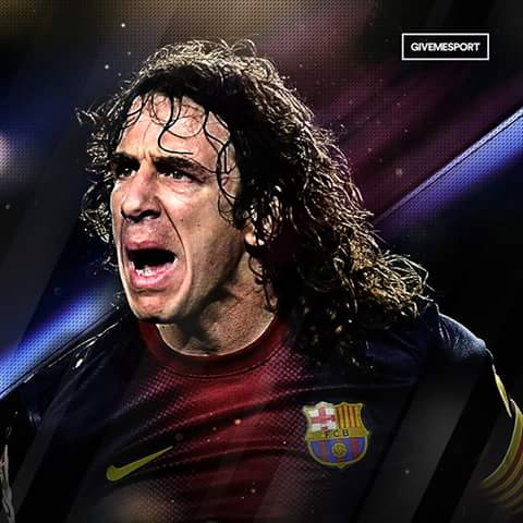 Happy Birthday Carles Puyol. 6 La Ligas, 3 Champions Leagues, 1 European Championship and 1 World Cup. Beast.