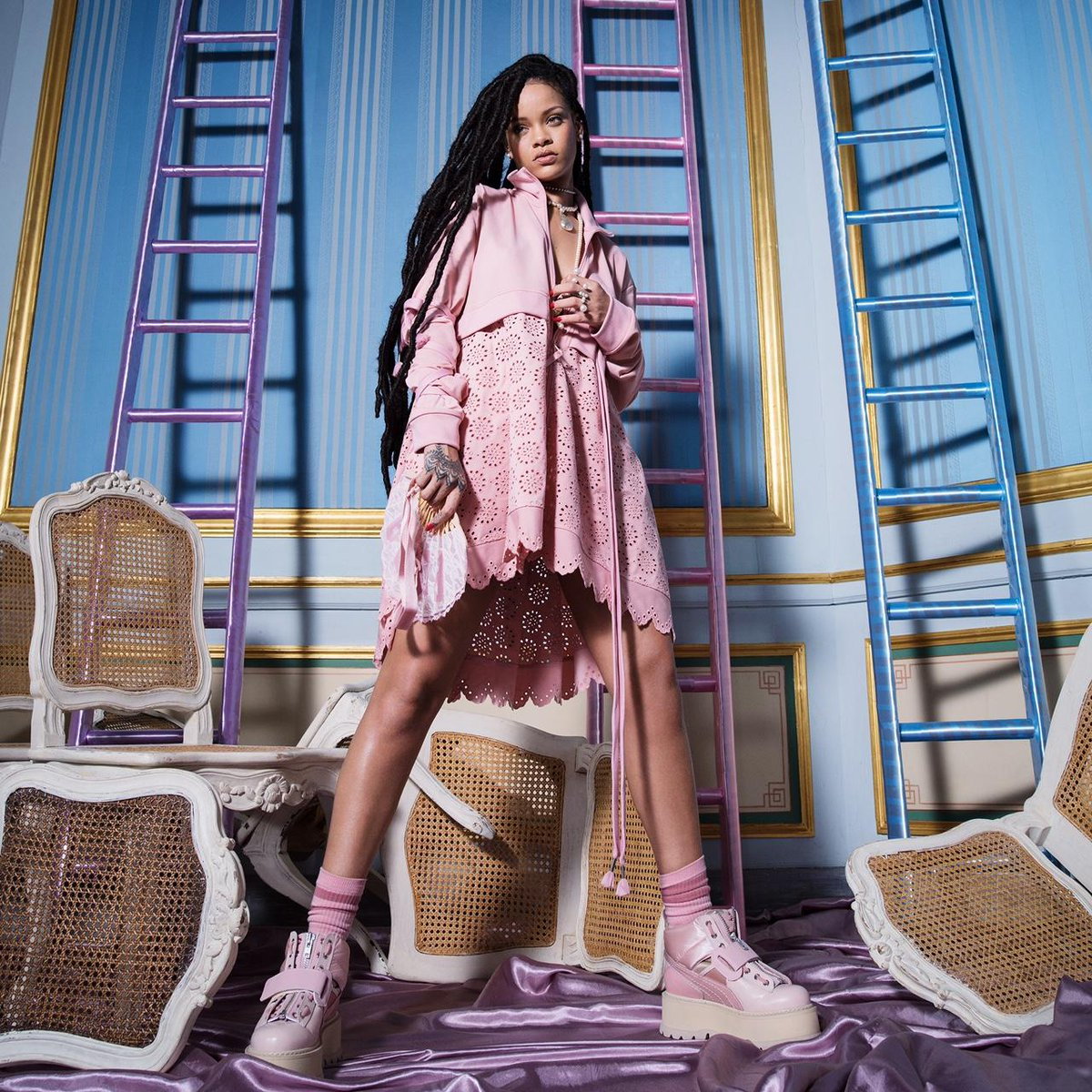 Shop more  Rihanna for  Puma today. New looks out worldwide from  FENTYXPUMA 962bbfa61b