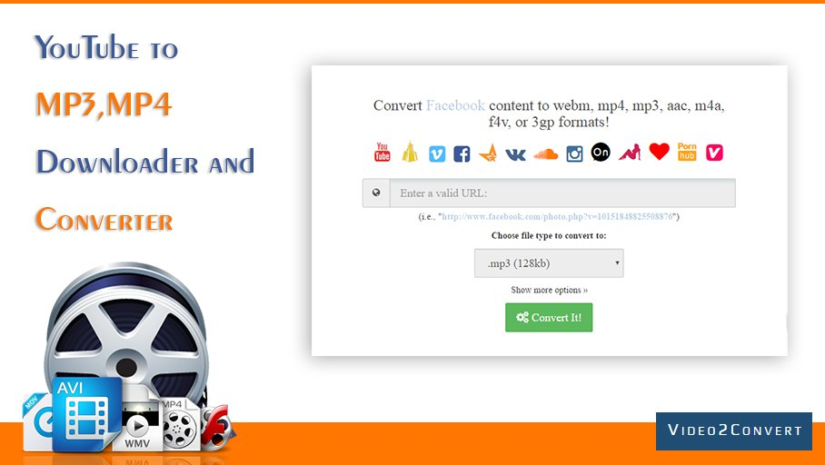 Free Video Converter to any format #AVI #MP4 #MPG and ETC  http://www. video2convert.com  &nbsp;  <br>http://pic.twitter.com/jwKeCElv5c