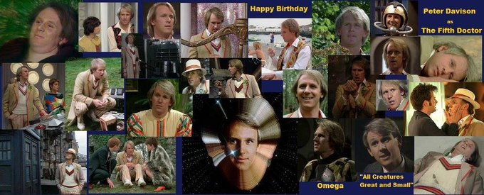 4-13 Happy birthday to Peter Davison.