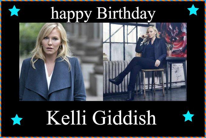 Happy Birthday  Kelli Giddish