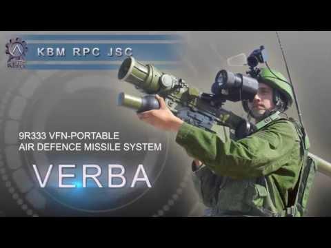 9K333 Verba MANPADS exported to Armenia