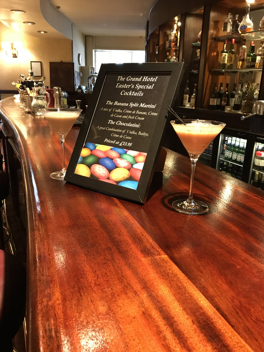"Baileys Chocolatini Cocktail grand hotel on twitter: ""#easter cocktails are banana split"