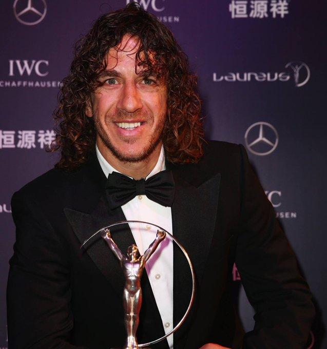 A very happy birthday to Laureus Academy Member and football legend Carles Puyol!   ¡Enhorabuena Carles!