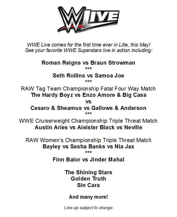 La WWE en France !  - Page 2 C9TbdHZXgAAGD9t
