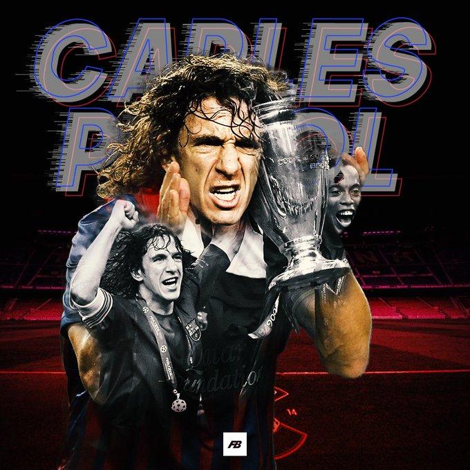 Happy 39th birthday to &  legend Carles Puyol!
