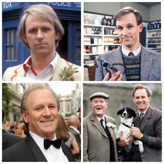 Peter Davison is 66 today, Happy Birthday Peter!