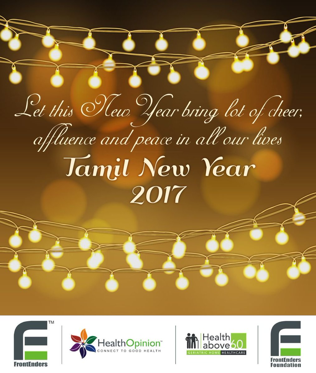 Healthabove60 On Twitter Let This Tamil New Year Brings Lot Of