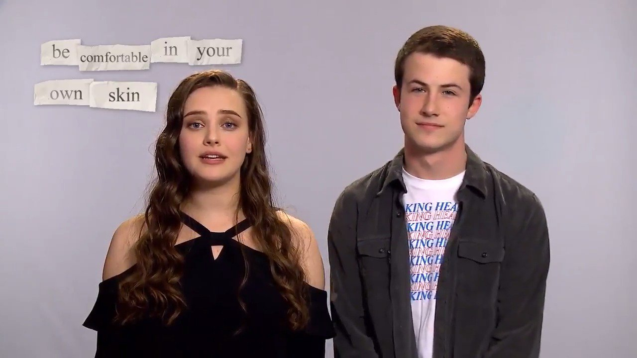 'We're all figuring it out together.' The stars of @13ReasonsWhy share 13 tips for getting through school. https://t.co/cLu65BVtYg