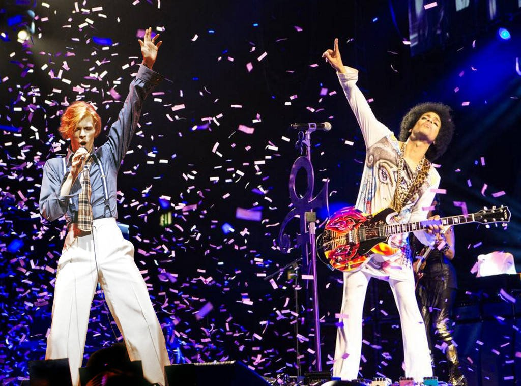 """My son Henry asked """"are #DavidBowie and #Prince friends."""" Yes, yes they are. And then we danced. @kexp https://t.co/Oa2gvxYAYI"""