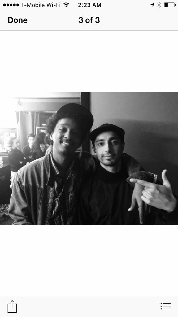The bro @rizmc and me conjuring you up in the vibes @Lin_Manuel https://t.co/l7TGdSx7v2