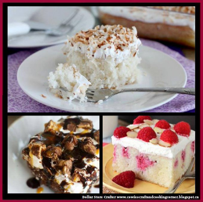3 Poke Cake Recipes