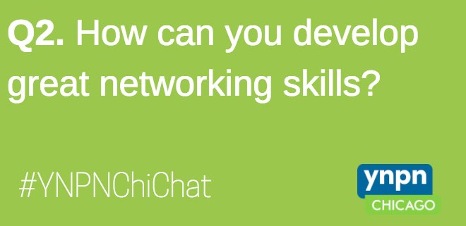 Q2. Does practice really make perfect? What skills make a great networker, & how can you obtain those skills? #YNPNChiChat #networking #ynpn https://t.co/O7Nu7ajFFL