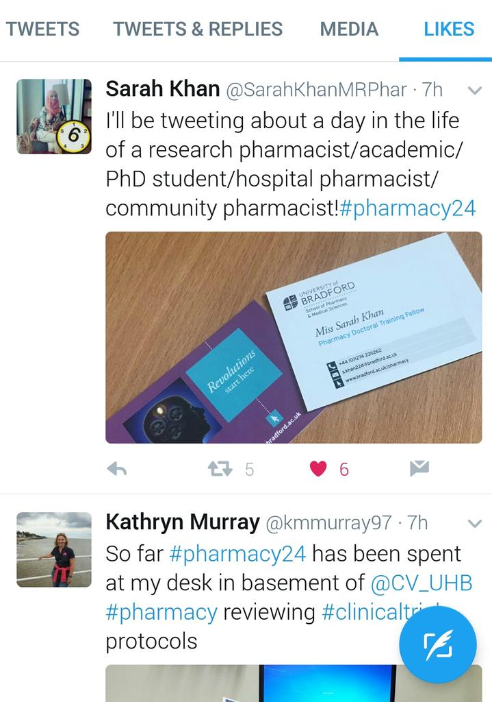 So many great tweets about #research in #pharmacy and by #pharmacists!! Roll on #pharmacy24 🤓 https://t.co/o15XARnoXZ