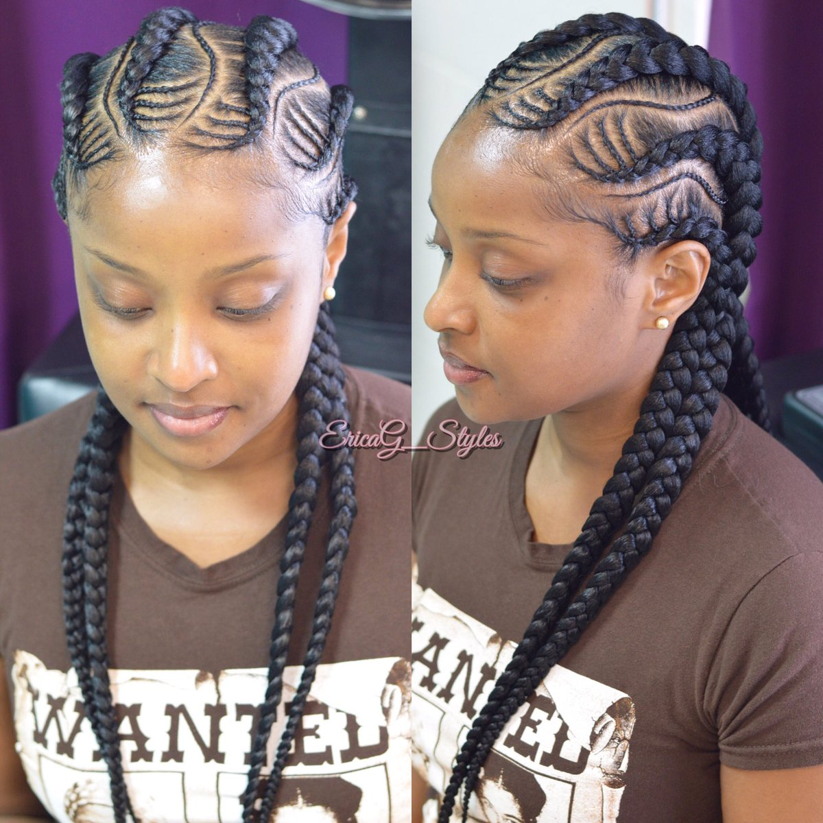 Erica G Styles On Twitter Quot Cornrows Frenchbraids