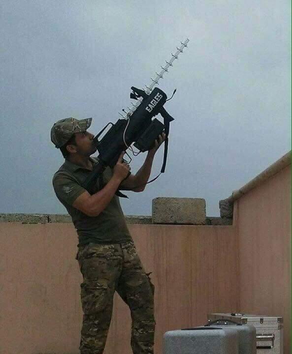العراق يمتلك مضاد الدرون التايواني  RAYSUN MD1  C9U752MXcAA3xFd
