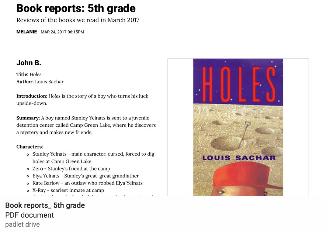 holes book report setting A list of important facts about louis sachar's holes, including setting, climax, protagonists, and antagonists.