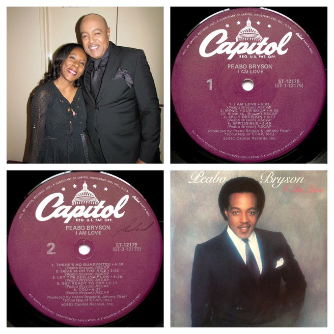 Happy Birthday Peabo Bryson!