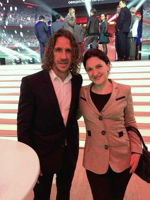 My wife sent me this saying she just wished the legendary Carles Puyol of Barcelona a happy birthday!