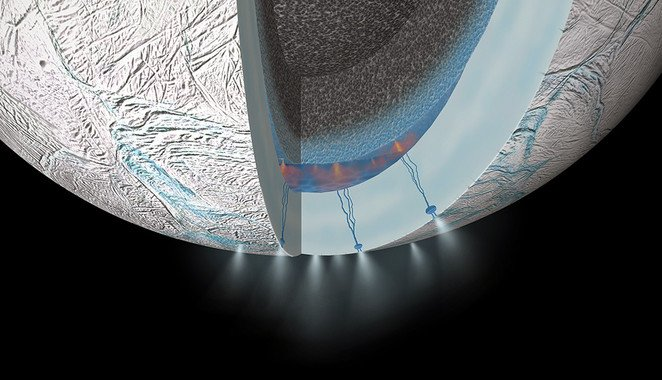 NASA su Encelado: Luna Saturno con vita extratterestre?