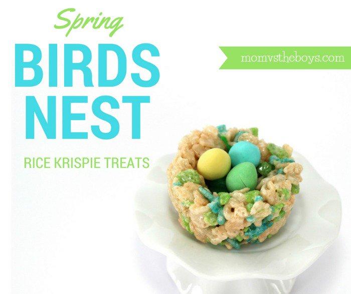 Spring Bird's Nest Rice Krispie Treats! https://t.co/1QUtDCFMSD @RiceKrispiesCA #RiceKrispiesSpring #Kellogger https://t.co/NymITTbgNM