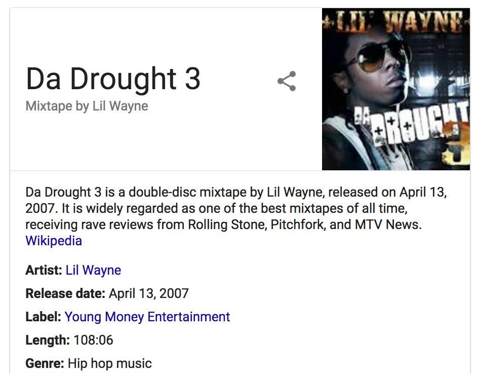 lil wayne tha drought 3 download