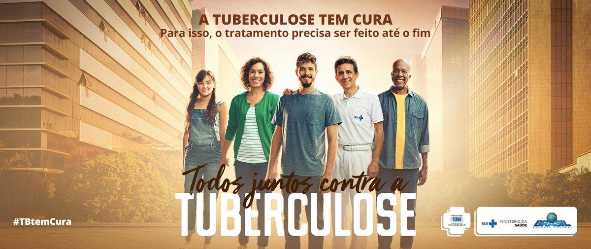 Tosse por mais de 3 semanas pode ser tuberculose. Procure uma Unidade de Saúde. #TBTemCura. Saiba mais em https://t.co/o5b1t3JjcI