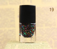 Free Delivery 1 pcs/lot Snow glitter Russia Nail Polish 8 ml Cosmetics France Nail Varnish gift