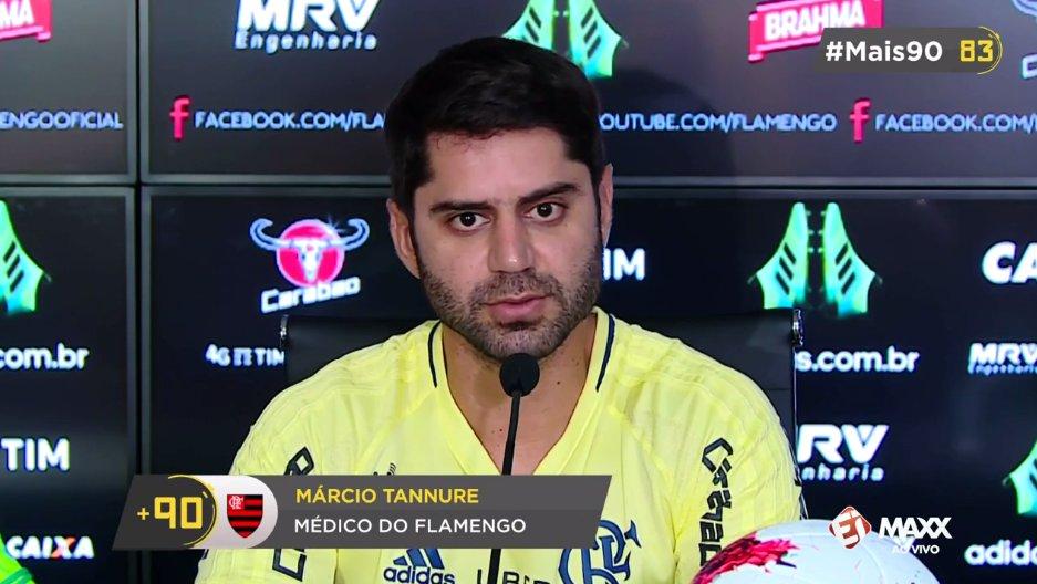 Diego ficará fora do Flamengo por quatro a seis semanas. O #Mais90 traz o diagnóstico agora, AO VIVO!