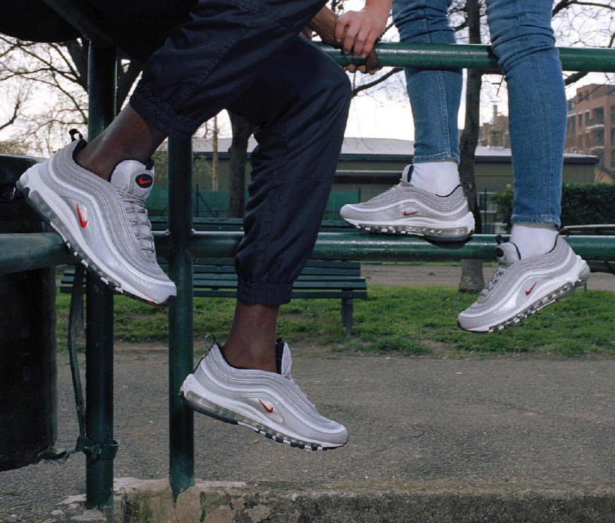 low priced 432bb 0edc6 ... ebay foot locker canada on twitter the nike air max 97 silver bullet is  now available