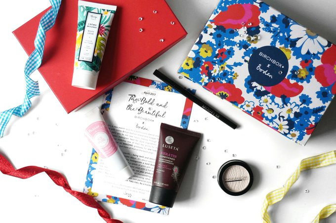 THE BOLD AND THE BEAUTIFUL APRIL BIRCHBOX X BODEN
