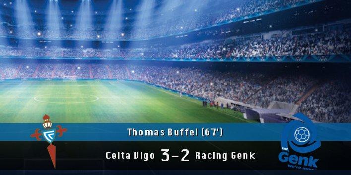 GOAAAL!!! Thomas Buffel (&#39;67) scores!!  #CeltaVigo 3 #RacingGenk 2<br>http://pic.twitter.com/RoXaosRsM6
