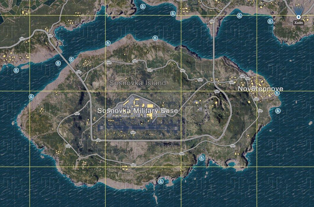 Playerunknown S Battlegrounds Car Spawns: PUBG Map (@PUBGMap)