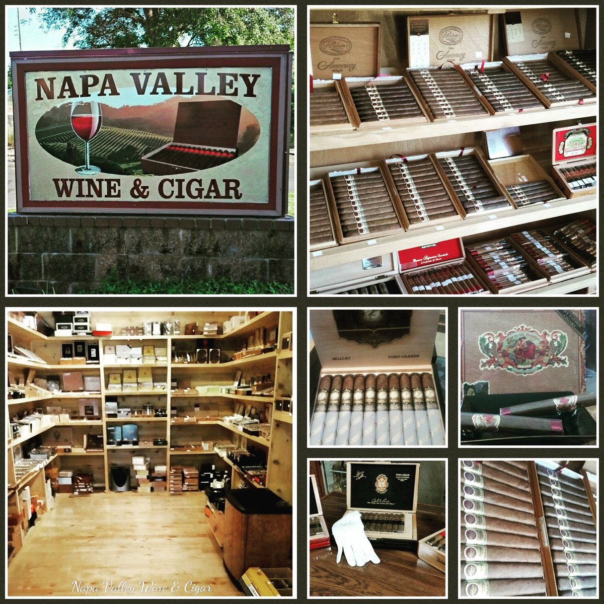 If you're in #NapaValley this weekend we're open all wknd and #Easter Sunday 10-7 #wine #cigars #napacigars https://t.co/AWEjQ7jTki