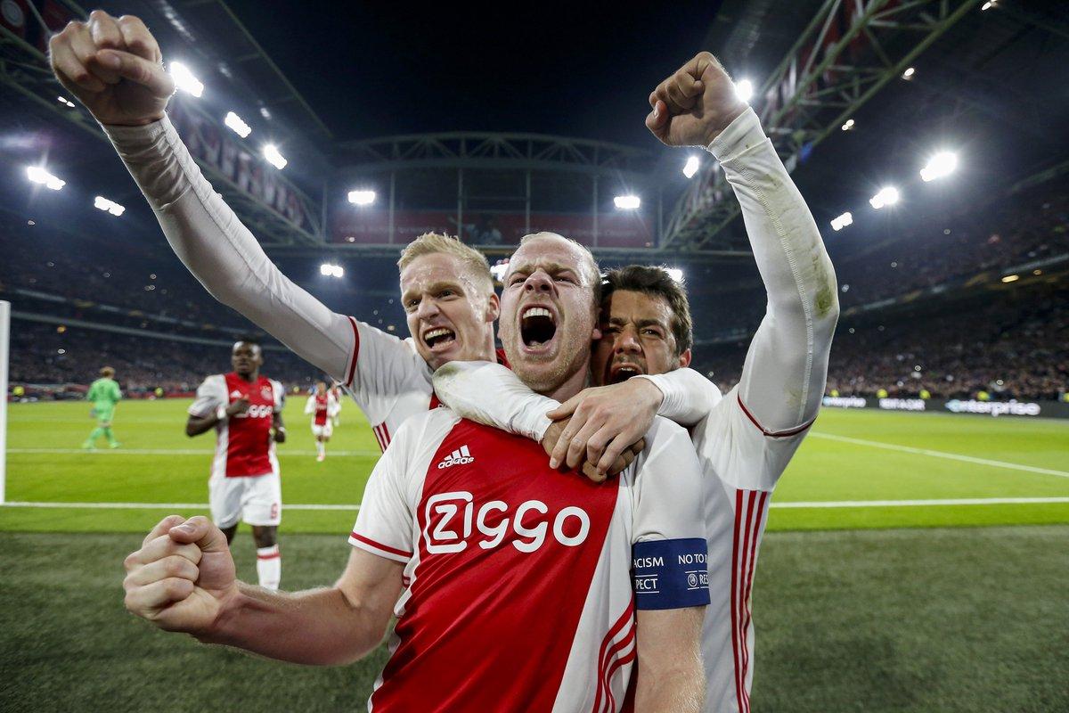 Uefa Europa League On Twitter Result Ajax 2 0 Schalke