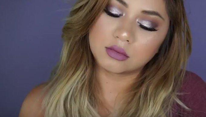 Easy Fall Lavender Glam Makeup Tutorial