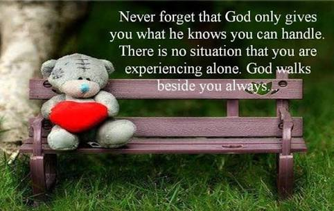 Inspirational Quotes On Twitter Never Forget That God Only Gives