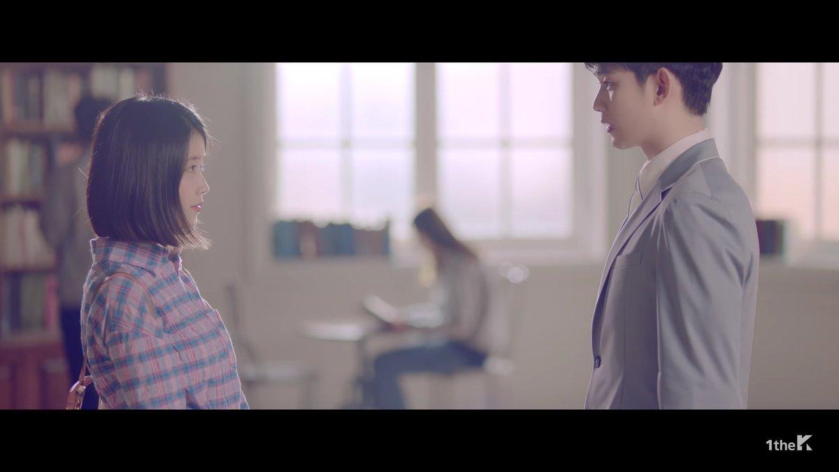 Imagini pentru IU releases MV for 'Ending Scene' starring Kim Soo Hyun