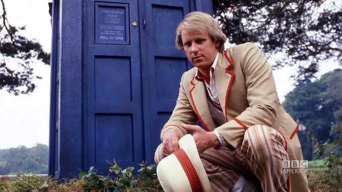 Happy Birthday, Fifth Doctor Peter Davison! -