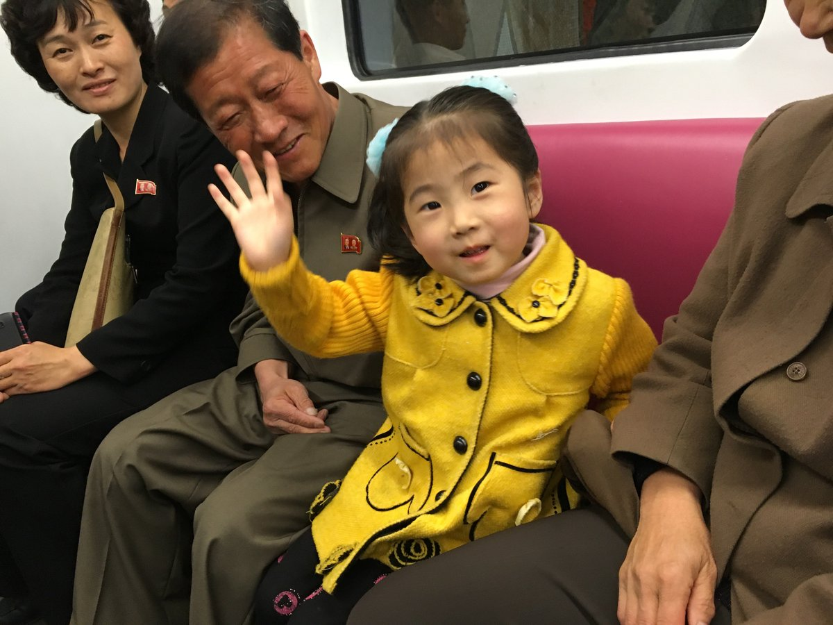 Here are some North Koreans for you. Important to remember that the people are not the same as the regime.