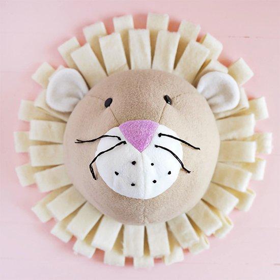 Fabric Lion DIY