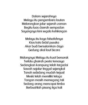 Jo Binti Rahim On Twitter Melayu Usman Awang