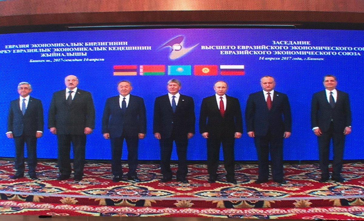 Dodon of Moldova asked Euroasian Economic union to provide Moldova monitor status