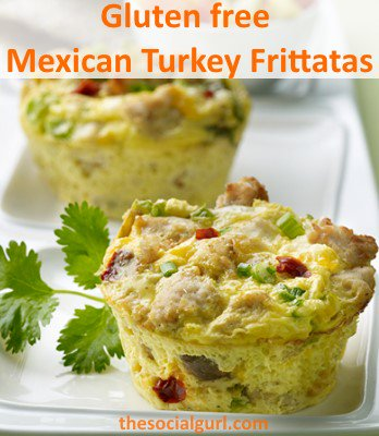 Gluten Free Mexican Jennie-O Turkey Frittatas Recipe