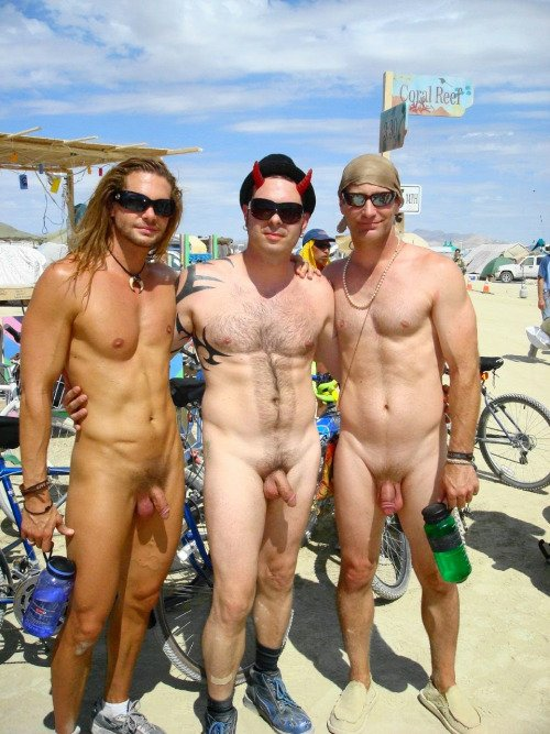 from Wade burning man festival nud