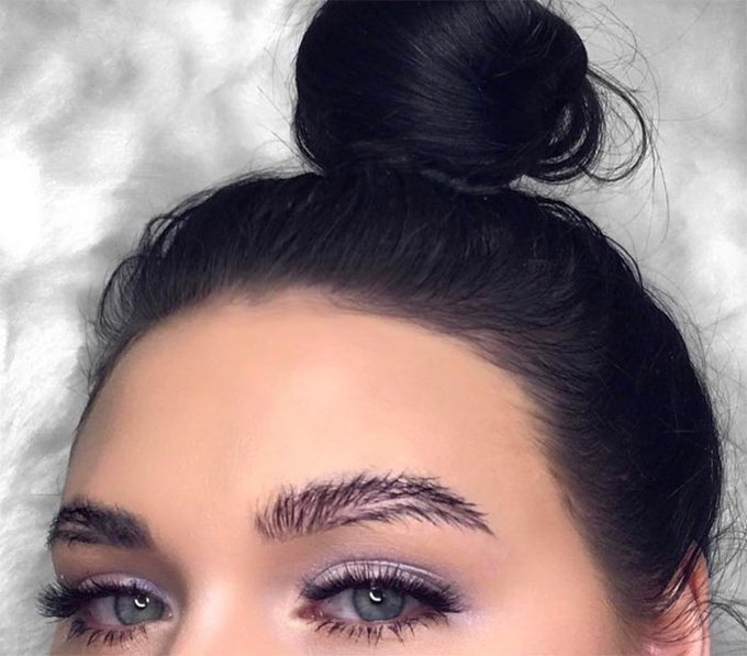 The Feather Brow Trend Is Huge On Instagram