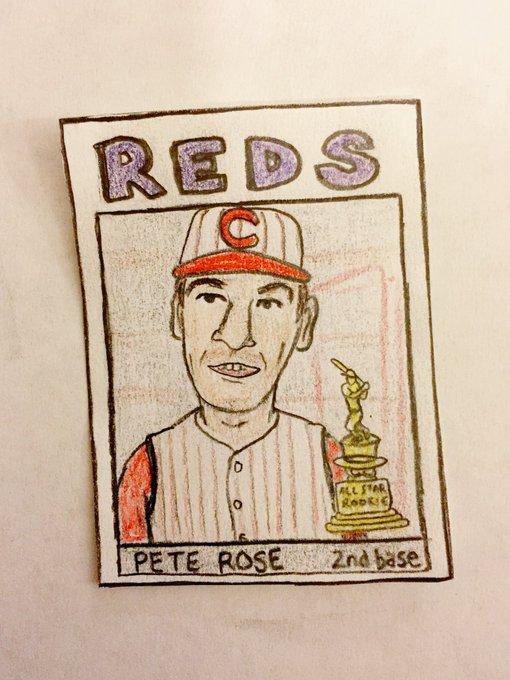Happy birthday, Pete Rose!