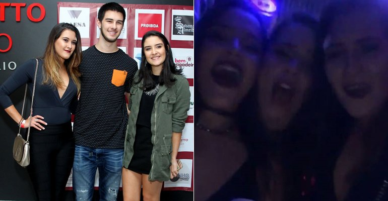 Filhos de Fátima Bernardes e William Bonner se divertem em festa com Emilly e Mayla. Veja as fotos --> https://t.co/bbgnQRt1v9